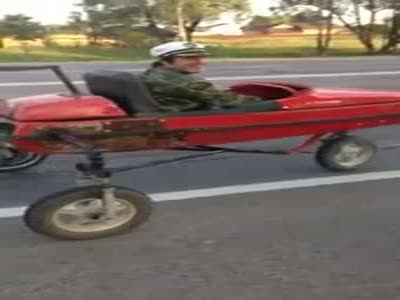 Weird Russian Handmade Vehicle