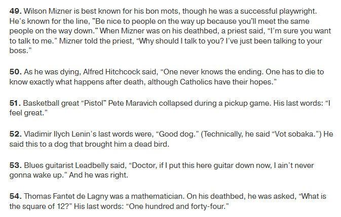 Famous Last Words Spoken By Famous People (8 pics)