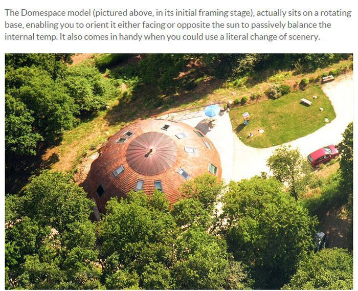 Epic Domed House Is Saving The Planet (9 pics)