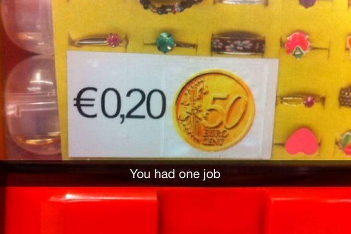 You Had One Job. Part 4 (42 pics)