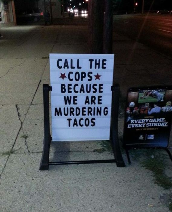25 Restaurant Signs That Will Get Your Attention (25 pics)