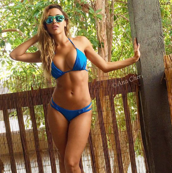 Beautiful Busty Babes In Nothing But Bikinis (50 pics)