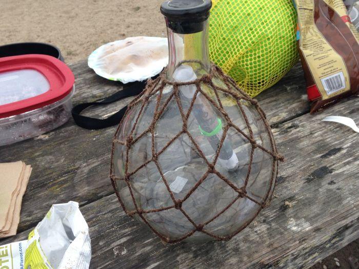 Denze atılan şişe, Mesaj, şişe içerisindeki mesaj