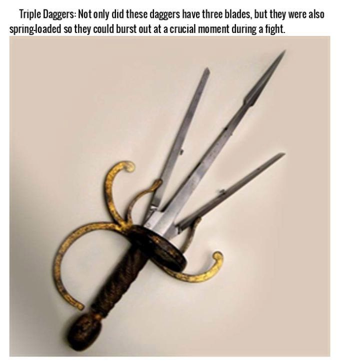 Brutal Combat Weapons Throughout History (15 pics)
