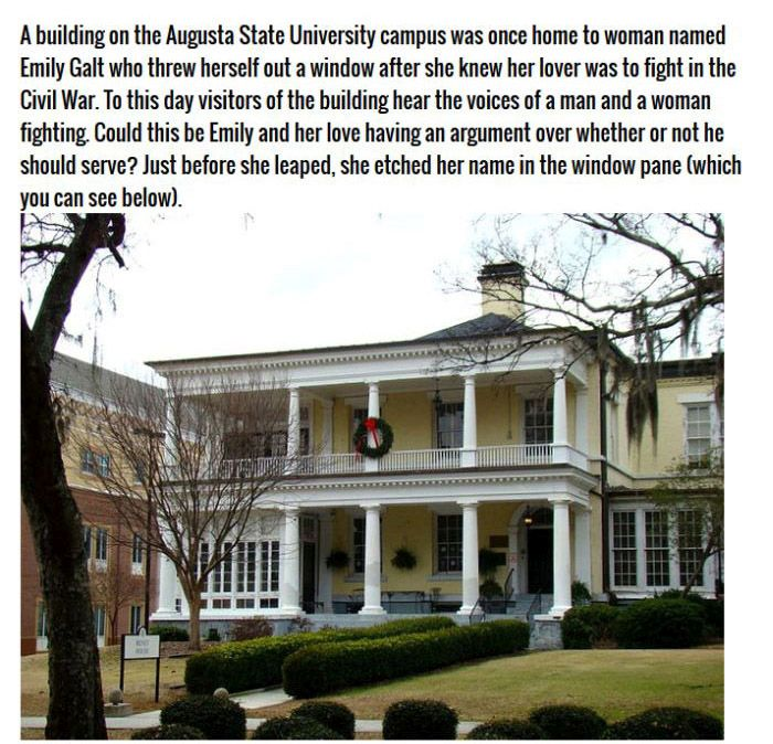 The Most Haunted Schools America Has To Offer (9 pics)
