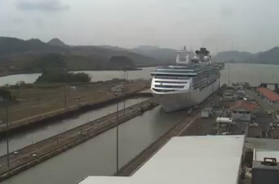 How The Panama Canal Works Timelapse