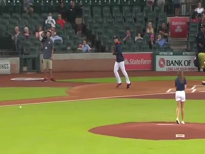 Worst First Pitch Ever