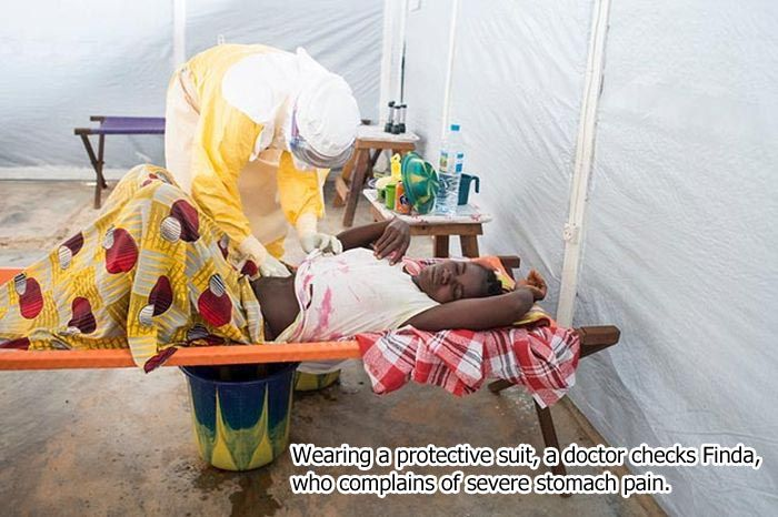 The Story Of Finda Kamano's Battle With Ebola (11 pics)
