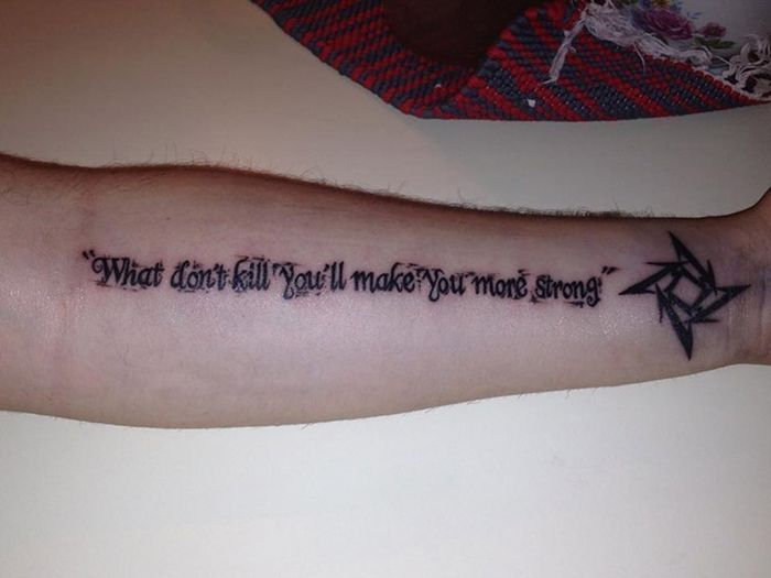 Misspelled Tattoos That Will Live Forever (22 pics)