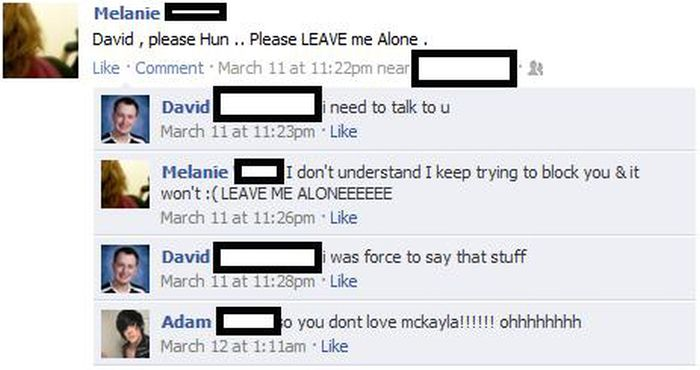 Guy Totally Fails At Picking Up Women On Facebook (10 pics)