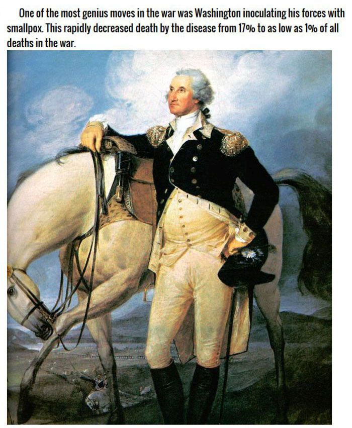 9 Patriotic Facts About The American Revolution (9 pics)