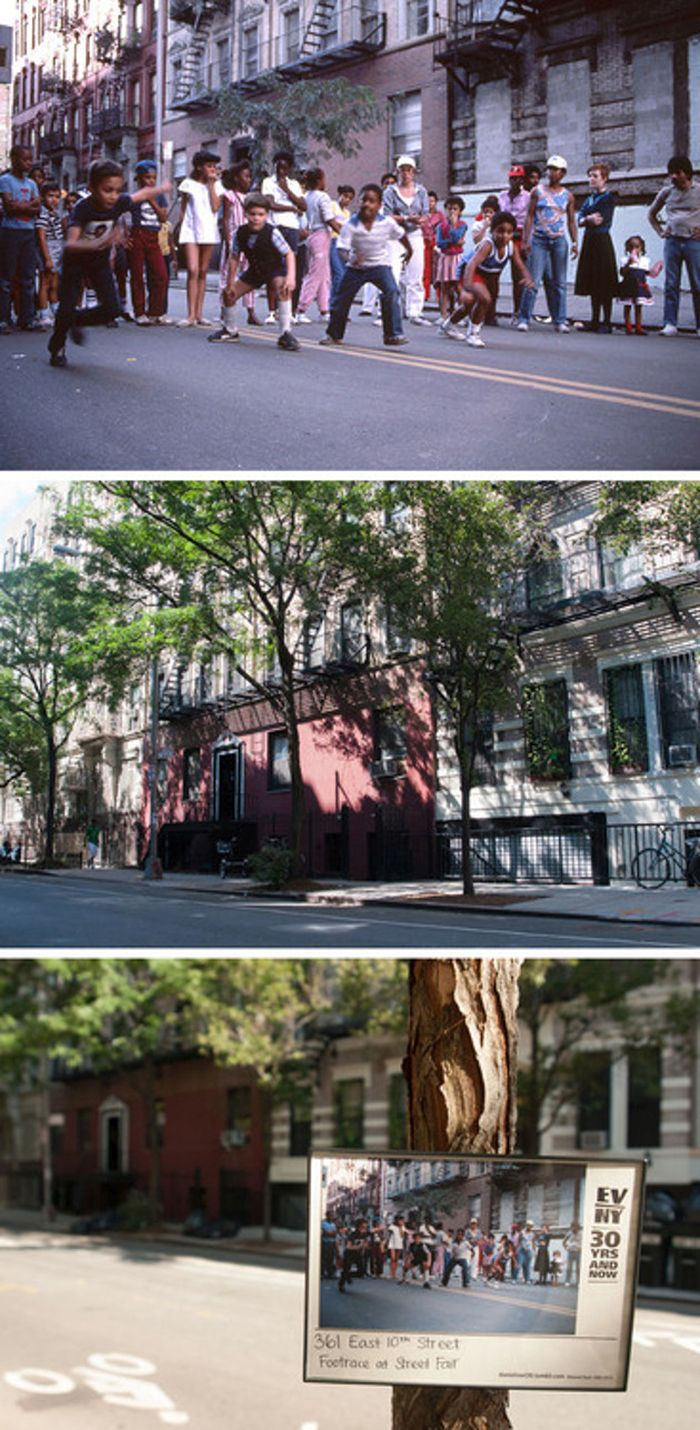 New York's East Village Back In The Day And Today (11 pics)