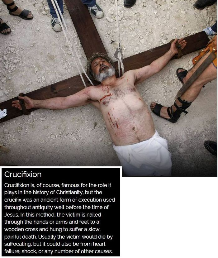 The Most Brutal Methods Of Execution Throughout History (10 pics)