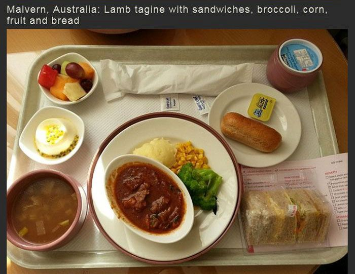 What Hospital Food Is Like Around The World (17 pics)