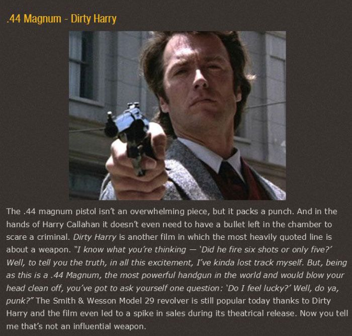 The Most Epic Movie Weapons To Ever Appear On Screen (25 pics)