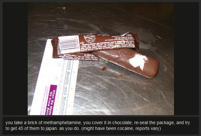 Failed Attempts At Drug Smuggling (23 pics)