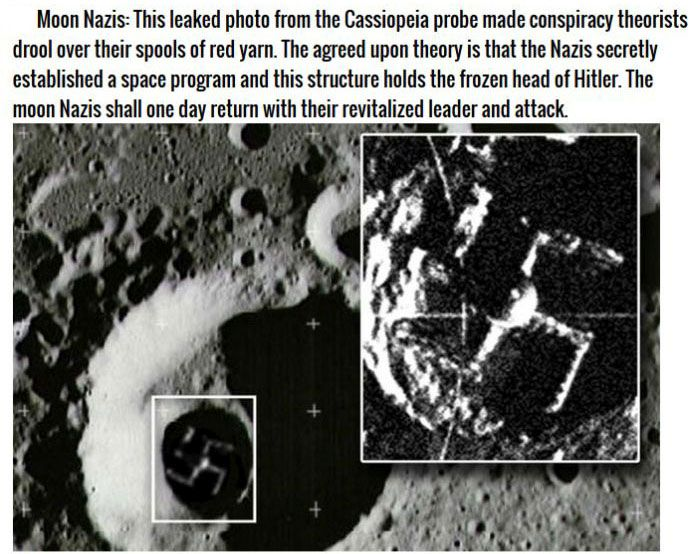 Crazy Θεωρίες συνωμοσίας που οι άνθρωποι πιστεύουν ότι είναι True (8 pics)