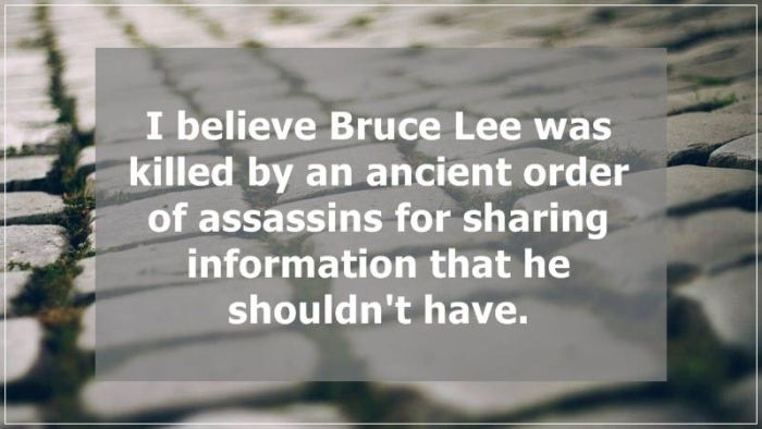 The Top 20 Conspiracy Theories People Talk About (20 pics)
