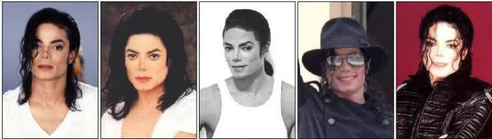 Michael Jackson's Evolution Over 50 Years (10 pics)