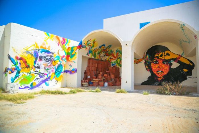 This Tunisian Island Is Flooded With Street Art (34 pics)