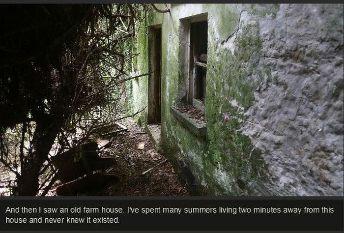 Exploring An Abandoned House (25 pics)