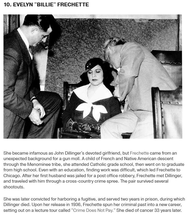 10 Notorious Female Gangsters That Make The Men Look Tame (10 pics)