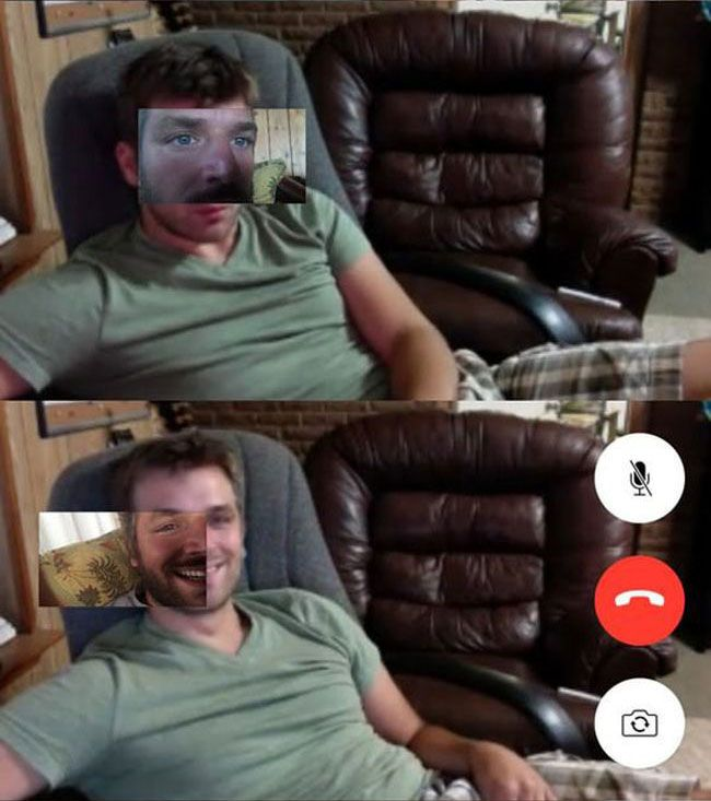 Face Timing With Your Twin Brother (13 pics)