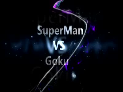 Awesome Hand-Made Animation: SuperMan Vs Goku