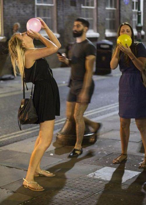 British Teens Consume Laughing Gas (42 Pics