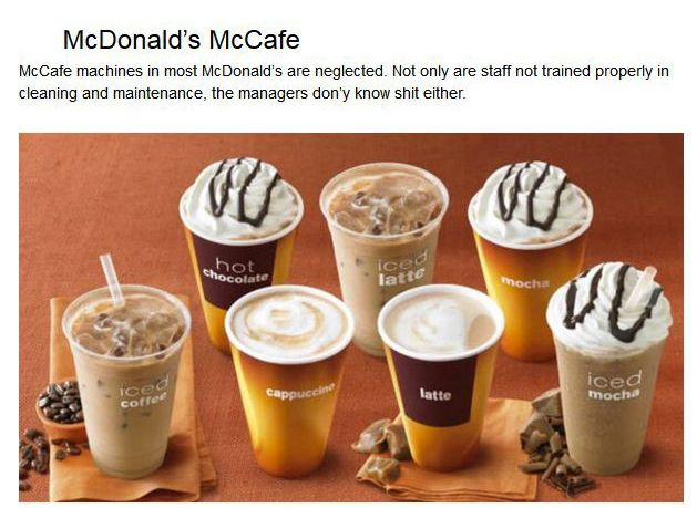 Fast Food Employees Tell Us Which Items We Should Never Eat There (14 pics)