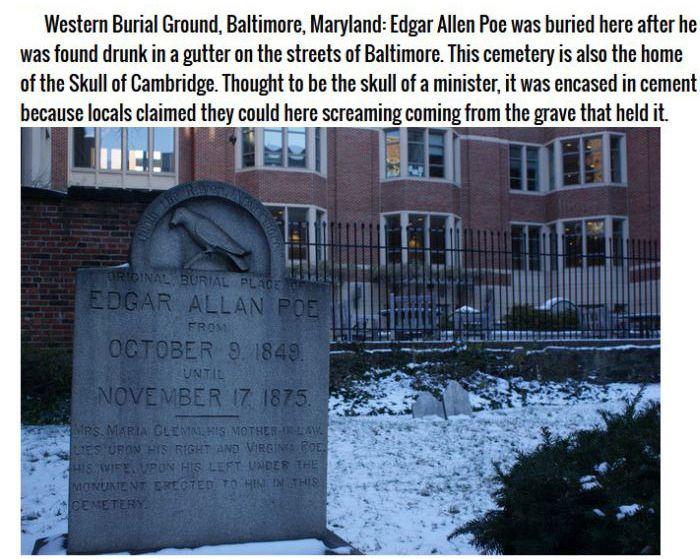 Haunted Cemeteries (11 pics)
