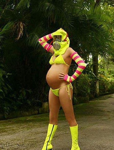 The Most Awkward Pregnancy Photos Ever (26 pics)