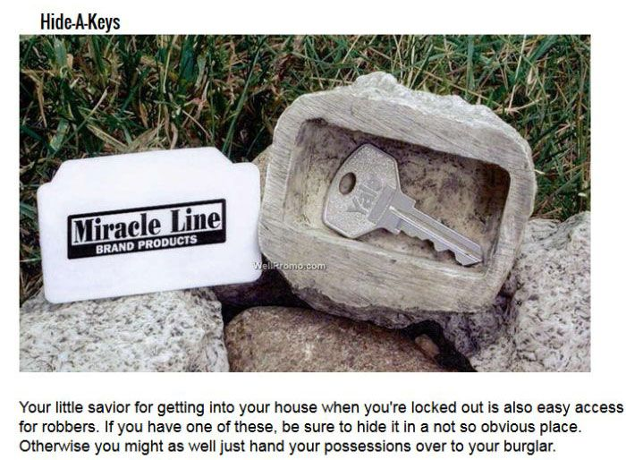 What Burglars Look For When They Break Into A Home (9 pics)