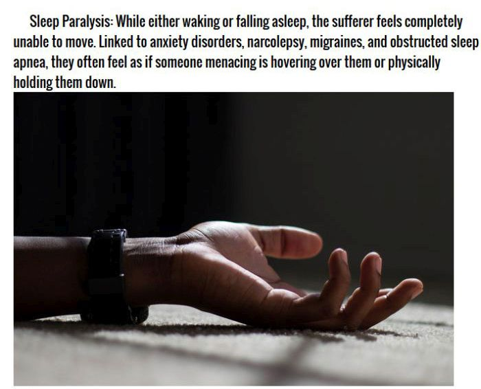 10 Terrifying Sleep Disorders (10 pics)