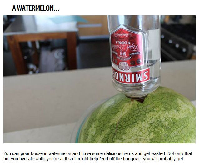 10 Things You Should Be Bringing To A College Party (10 pics)