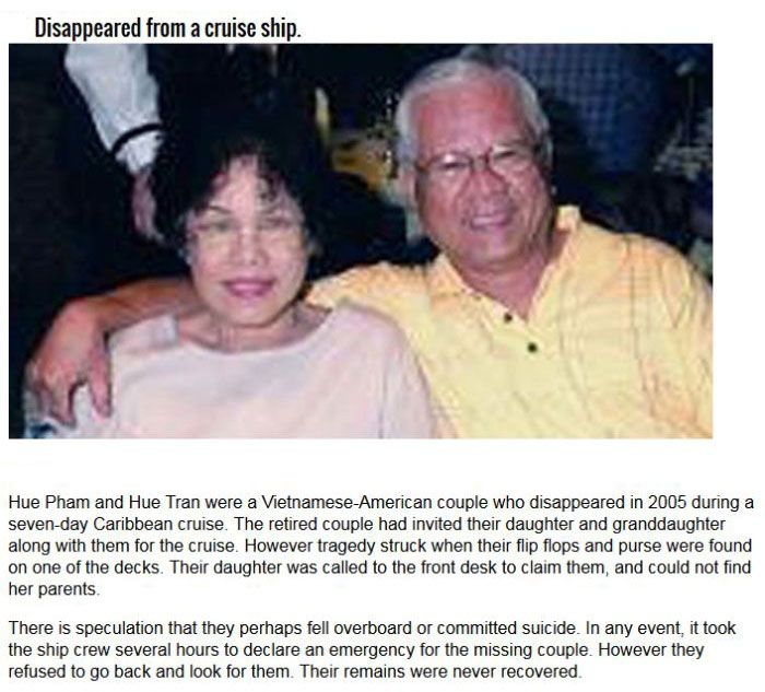 Couples That Mysteriously Disappeared (7 pics)