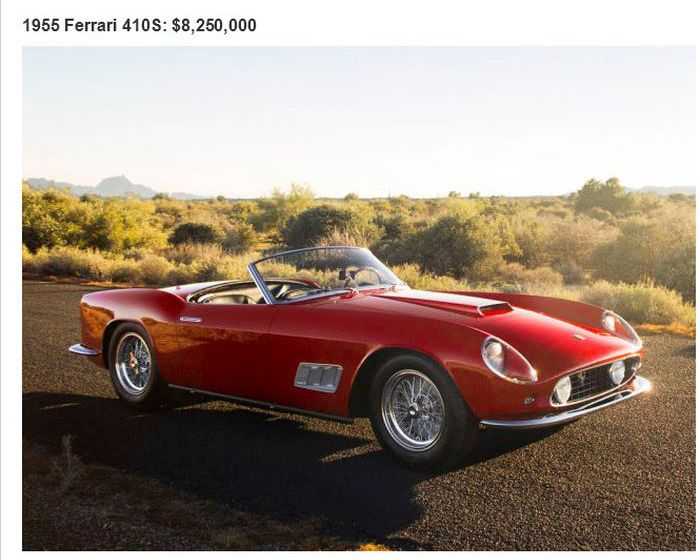 the 26 most expensive cars ever sold at an auction 26 pics. Black Bedroom Furniture Sets. Home Design Ideas