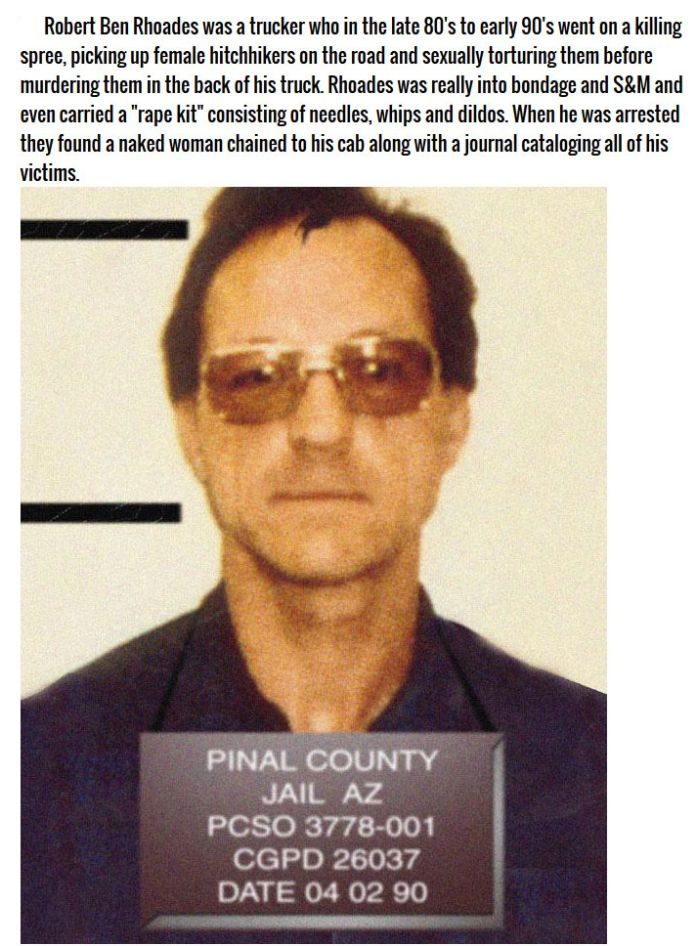 Dangerous Serial Killers You've Never Heard Of (9 pics)