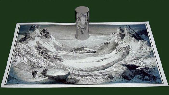 Hidden Portrait Of Jules Verne (2 pics)