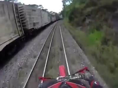 Scary Motorcyclist's Close Call
