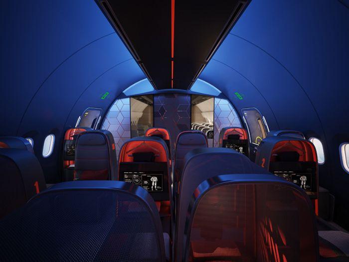 Amazing Plane Built For Pro Athletes (8 pics)