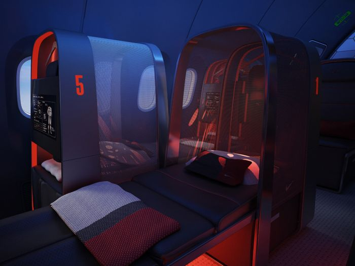 Amazing Plane Built For Pro Athletes (8 pics)