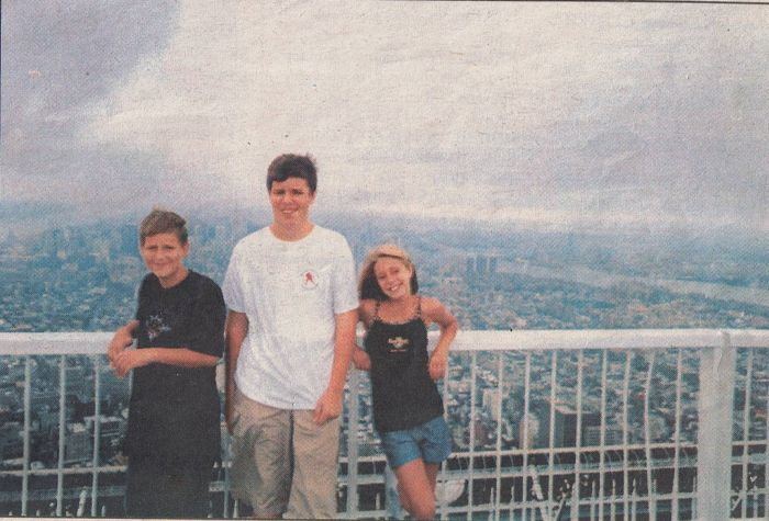 One Of The Last Pictures Taken At The World Trade Center (2 pics)