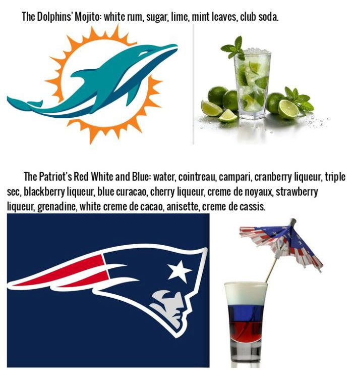 Drinks That Were Inspired By Your Favorite NFL Team (16 pics)