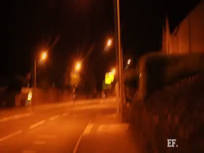 Cyclist Hits The Speed Limit Of Street Camera