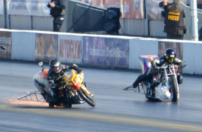 Scary Motorcycle Collision (12 pics)