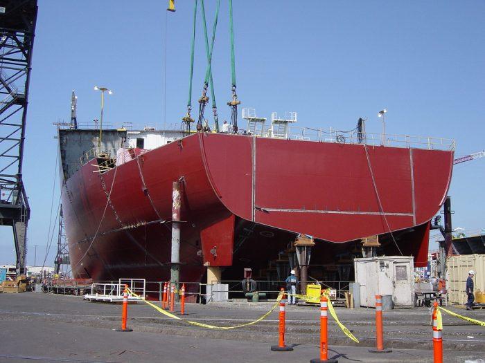 How A Super Tanker Is Built (48 pics)