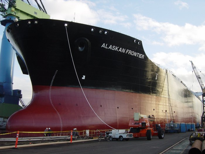How A Super Tanker Is Built (48 pics)