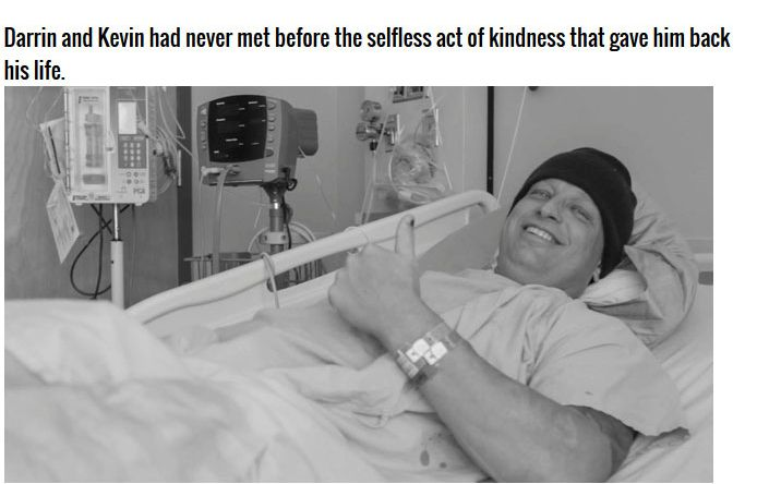 The Incredible Story Of The Man That Needed A Kidney (13 pics)
