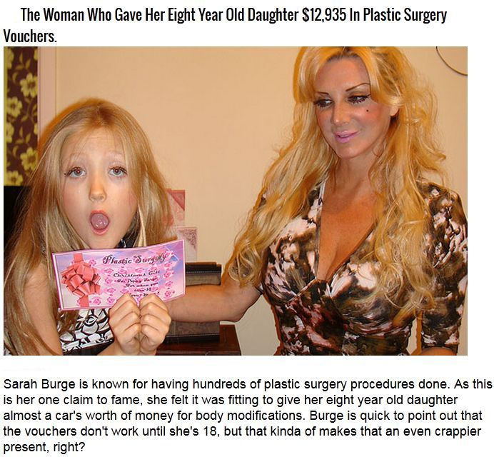 These People Got Creepy With Plastic Surgery (7 pics)